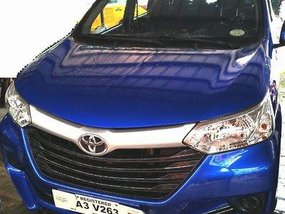 Blue Toyota Avanza 2018 at 7800 km for sale