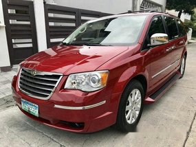 Selling Red Chrysler Town And Country 2010 Automatic Diesel