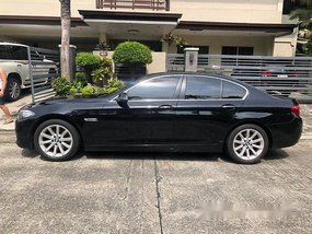 Black Bmw 520D 2015 at 61500 km for sale