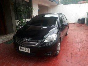 Black Toyota Vios 2011 Automatic Gasoline for sale
