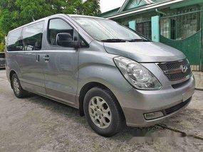 Silver Hyundai Grand Starex 2012 Manual Diesel for sale