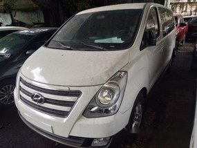 White Hyundai Grand Starex 2018 for sale in Makati