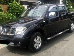 Black Nissan Frontier Navara 2013 Automatic Diesel for sale