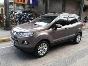 Grey Ford Ecosport 2015 Automatic Gasoline for sale