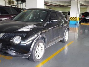 Black Nissan Juke 2017 Automatic Gasoline for sale