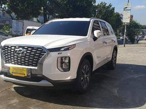 White Hyundai Palisade 2019 Automatic Diesel for sale