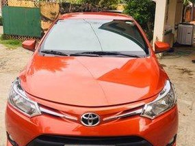 Selling Orange Toyota Vios 2014 Automatic Gasoline