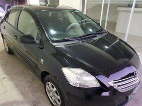 Black Toyota Vios 2012 Manual Gasoline for sale