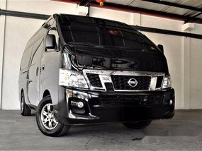 Black Nissan Nv350 Urvan 2017 Manual Diesel for sale
