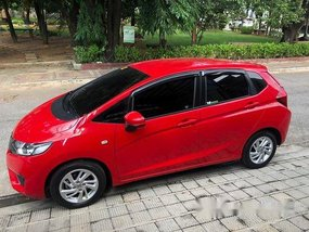 Selling Red Honda Jazz 2017 Automatic Gasoline