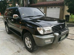 Black Toyota Land Cruiser 2000 for sale in Bacoor