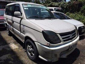 White Mitsubishi Adventure 2014 at 206000 km for sale