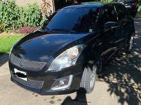 Sell Black 2016 Suzuki Swift Automatic Gasoline at 21000 km