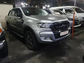 Silver Ford Ranger 2017 Manual Diesel for sale