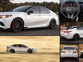 Our first look at the all-new Toyota Camry TRD 2020