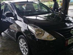Selling Black Nissan Almera 2018 Manual Gasoline in Zambales