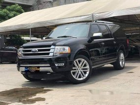 Sell Black 2016 Ford Expedition Automatic Gasoline at 15000 km