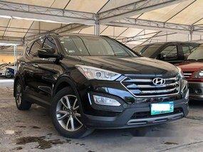 Selling Black Hyundai Santa Fe 2013 Automatic Diesel at 66000 km
