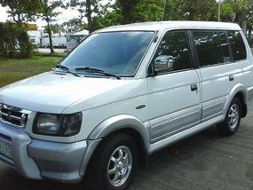 White Mitsubishi Adventure 2000 Manual Gasoline for sale