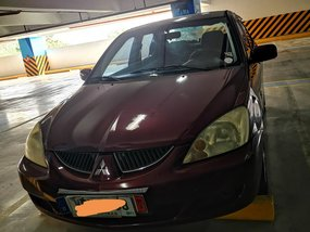 Selling Red Mitsubishi Lancer 2007 Automatic Gasoline