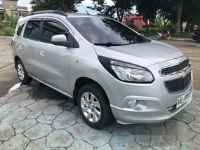 Silver Chevrolet Spin 2015 Automatic for sale