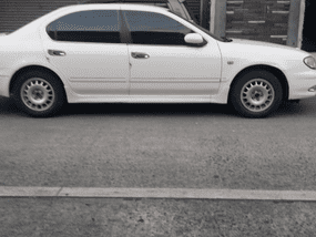 White Nissan Cefiro 2001 Automatic for sale in Manila