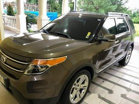 Brown Ford Explorer 2015 Automatic for sale