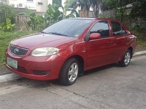 Sell Red 2005 Toyota Vios in Quezon City