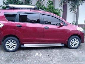 Selling Red Suzuki Ertiga 2015 at 30000 km