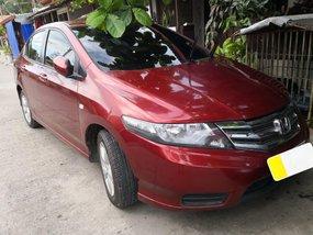 Selling Red Honda City 2012 Manual Gasoline