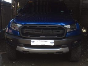 Selling Blue Ford Ranger Raptor 2019 at 3600 km