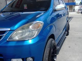 Blue Toyota Avanza 2007 Automatic for sale in Manila
