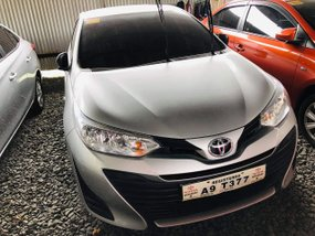 Silver Toyota Vios 2019 at 800 km for sale in Quezon City