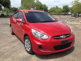 Selling Red Hyundai Accent 2017 at 6000 km in Lucena