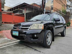 Sell Black 2007 Mitsubishi Endeavor Automatic Gasoline at 82000 km