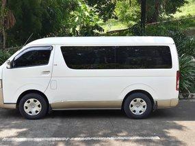 Selling Used Toyota Hiace 2010 Manual in Metro Manila