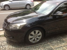 Selling Black Honda Accord 2008 at 72000 km in Quezon City