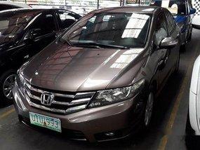 Sell Grey 2012 Honda City at 62691 km