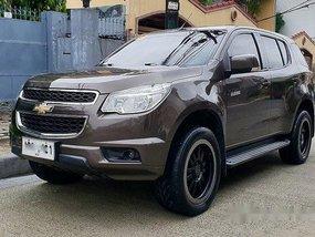 Sell Brown 2015 Chevrolet Trailblazer in Quezon City