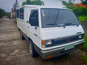 White Mitsubishi L300 2001 at 120000 km for sale in Dagupan