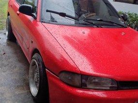 Sell Red Mitsubishi Lancer 1992 Manual in Porac