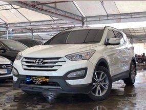 Sell White 2013 Hyundai Santa Fe CRDi AT at 80000 km