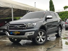 Grey 2016 Ford Everest Titanium 2.2L 4x2 AT Diesel in Makati