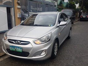 Silver Hyundai Accent 2012 at 60000 km for sale