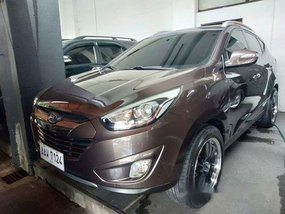 Brown Hyundai Tucson 2014 for sale in Quezon City
