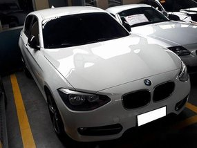 Selling White Bmw 118D 2013 at 22748 km