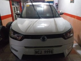 White Ssangyong Tivoli 2016 at 63486 km for sale in Quezon City