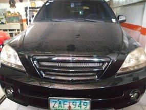 Selling Black Kia Sorento 2005 Automatic Diesel in Quezon City