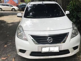 Selling White Nissan Almera 2015 Manual Gasoline in Antipolo