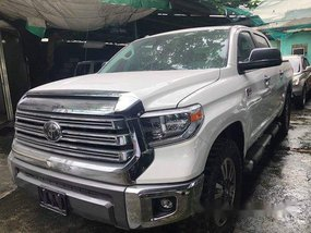 Selling White Toyota Tundra 2019 Automatic Diesel